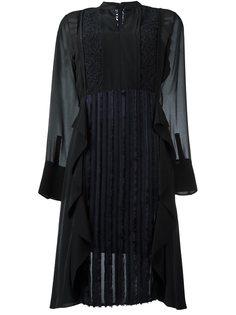 платье с кружевной вставкой  3.1 Phillip Lim