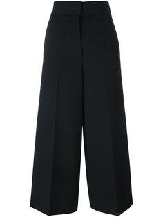 расклешенные брюки с высокой талией Jil Sander