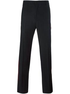 брюки с бархатными лампасами Givenchy