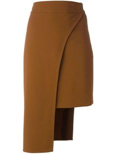 асимметричная юбка Cady Cushnie Et Ochs