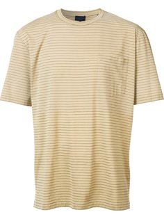 полосатая футболка с нагрудным карманом Lanvin