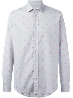 рубашка с узором animals Etro