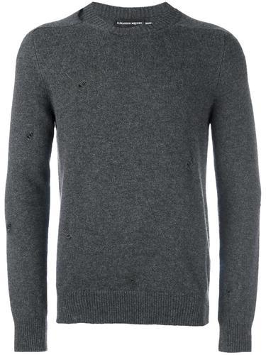 свитер с круглым вырезом  Alexander McQueen