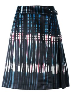 юбка с абстрактным узором Tomas Maier