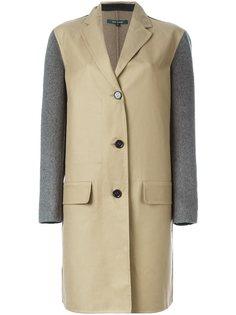 пальто с контрастными рукавами Sofie Dhoore