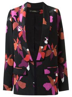 пиджак с цветочным принтом Andrea Marques