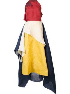 платье в стиле колор-блок  Rosie Assoulin