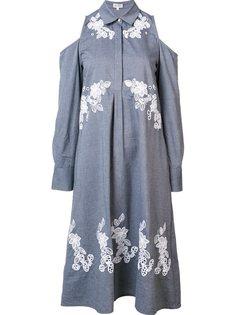 платье-рубашка свободного кроя  Suno