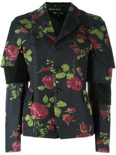 пиджак с цветочным принтом Comme Des Garçons