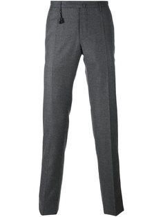 брюки чинос кроя слим Incotex