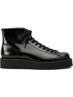 ботинки на шнуровке  Yohji Yamamoto