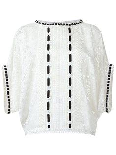 кружевная блузка Martha Medeiros
