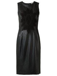 кожаное платье Martha Medeiros