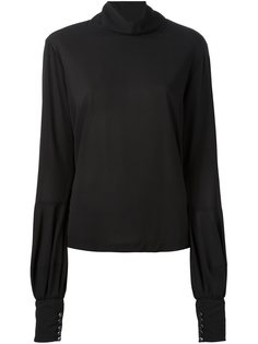 блузка с высоким горлом Giorgio Armani