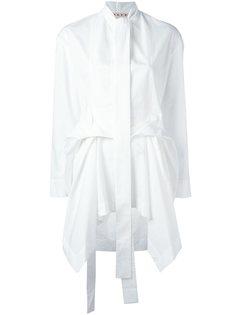 рубашка с драпировкой Marni