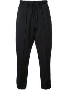 брюки с заниженной проймой Aganovich