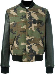 камуфляжная куртка-бомбер Off-White