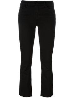 расклешенные укороченные джинсы  J Brand