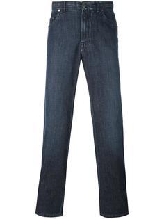 джинсы кроя слим   Brioni