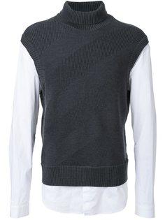 рубашка с отворотной горловиной Juun.J