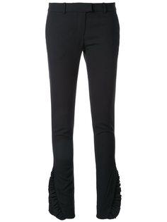 брюки с рюшами  Thomas Wylde