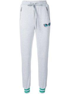 спортивные брюки с карманами на молнии Thomas Wylde