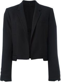 укороченный пиджак Helmut Lang