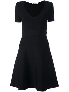 платье с короткими рукавами  T By Alexander Wang