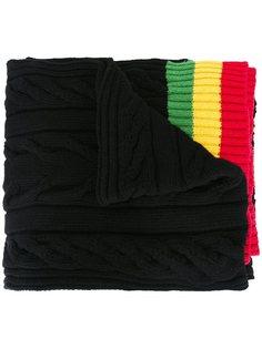 свитер с контрастными полосками   Palm Angels