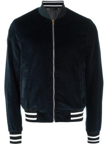 бархатная куртка-бомбер  Paul Smith
