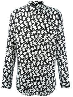 рубашка с узором в виде звезд Saint Laurent