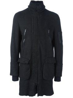 пальто на молнии Salvatore Santoro