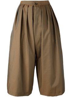 укороченные брюки со складками Comme Des Garçons Comme Des Garçons