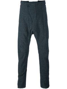брюки с заниженной проймой Masnada