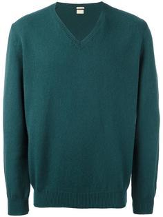 свитер c V-образным вырезом  Massimo Alba