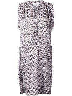 жаккардовое платье без рукавов Isabel Marant Étoile