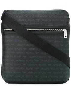 сумка на плечо с двухсторонней застежкой-молнией Armani Jeans