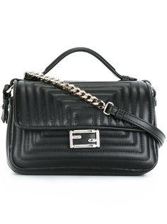 маленькая сумка через плечо Double Baguette Fendi