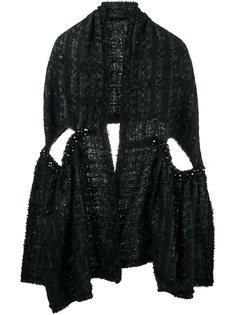 твидовый шарф Simone Rocha