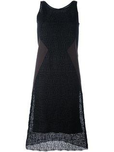 фактурное платье  Neil Barrett