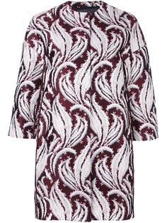 жаккардовая куртка с абстрактным узором Giambattista Valli