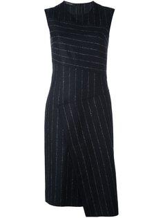 платье в тонкую полоску Cédric Charlier