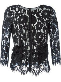 кружевная блузка с цветочным узором Marc Jacobs