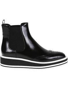 wedge Chelsea boots Prada