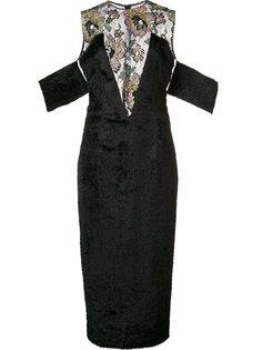 декорированное платье  Sophie Theallet