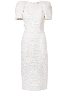 платье со структурированными рукавами  Sophie Theallet