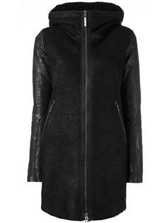 куртка-пуховик с капюшоном и карманами на молнии Isaac Sellam Experience