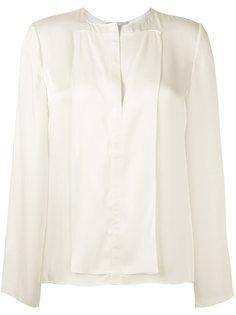 блузка с разрезом спереди Maison Rabih Kayrouz