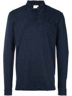 рубашка-поло Riviera с длинными рукавами Sunspel