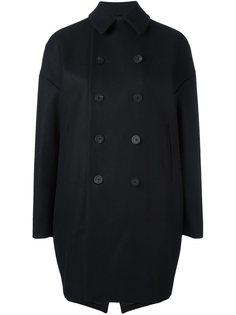 объемное пальто-бушлат 08Sircus